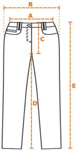 Größenberatung Kletterhose Kraxl